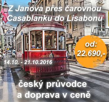 Banner plavba do Lisabonu